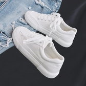2020春季新款韓版百搭休閒小白潮鞋女帆布學生白鞋布鞋板鞋ins潮