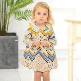 女童春秋裝連身裙 嬰兒公主裙1周3歲女寶寶長袖裙『夢娜麗莎精品館』