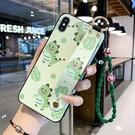 三星Note20/10/9/8保護殼 SamSung卡通貓兔腕帶保護套 Galaxy n20 Ultra手機套 風格皮套三星note 10pus手機殼