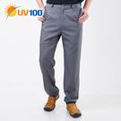 UV100 防曬 抗UV-極簡舒柔調節腰頭褲-男