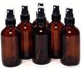 6個裝120ml棕色避光玻璃噴霧瓶香水精油細霧噴瓶酒精噴壺分裝瓶「安妮塔小鋪」