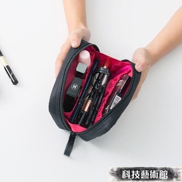 化妝包 旅行化妝包韓國小號便攜女化妝袋手拿大容量簡約隨身化妝品收納包 交換禮物