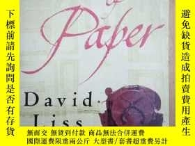 二手書博民逛書店DAVID罕見LISS: A Conspiracy of Pap