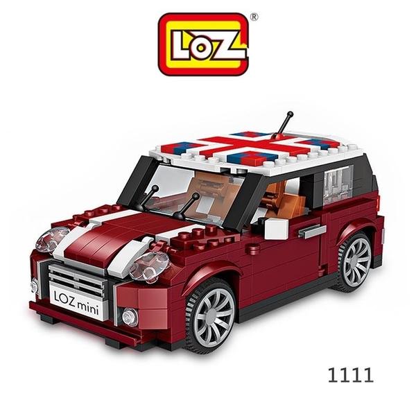 【愛瘋潮】LOZ mini 鑽石積木-1111 單門小車 迷你樂高