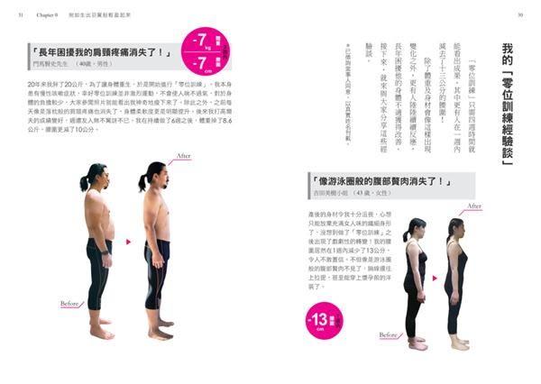 修身顯瘦の零位訓練:讓身體各部位回歸原始位置,長年累積的深層負擔就會消失,身..