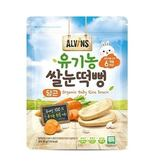 韓國ALVINS愛彬思寶寶大米餅(胡蘿蔔風味)30g★適合6個月齡以上寶寶