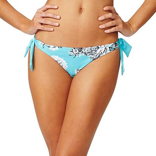 Moontide 知名進口泳裝品牌 WIDE TIE SIDE PANT 比基尼褲 - 女(青藍)