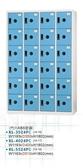 KL-3524FC  多用途24門置物櫃 / 衣櫃 - ABS塑鋼門片-淺藍色