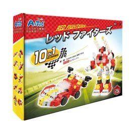 Artec日本彩色積木-變形系列赤色先鋒戰士
