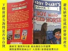 二手書博民逛書店TERRY罕見DEARY S GREEK TALES THE BOY WHO CRIED HORSE:特裏·迪裏的