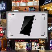 熒光板 電子熒光板懸掛式銀夜光黑板熒小屏廣告牌發光手寫版寫字 CP2455【野之旅】