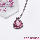 RED HOUSE-蕾赫斯-三角水鑽項鍊(共2色)