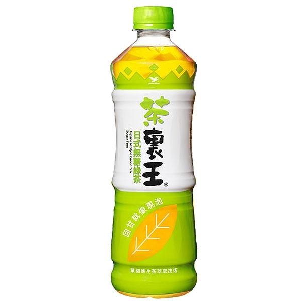 統一 茶裏王 日式無糖綠茶 600ml【康鄰超市】