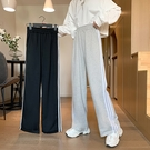 運動褲 2021新款春夏韓版休閒闊腿褲女學生大碼mm寬鬆顯瘦運動褲子ins潮 童趣屋 免運