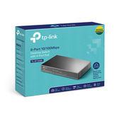 全新 TP-LINK TL-SF1008P 8 埠 10/100M 桌上型 PoE 交換器