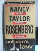 【書寶二手書T6/原文小說_ODK】Sullivan s Law_Nancy Taylor Rosenberg