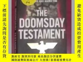 二手書博民逛書店英文原版罕見The Doomsday Testament by
