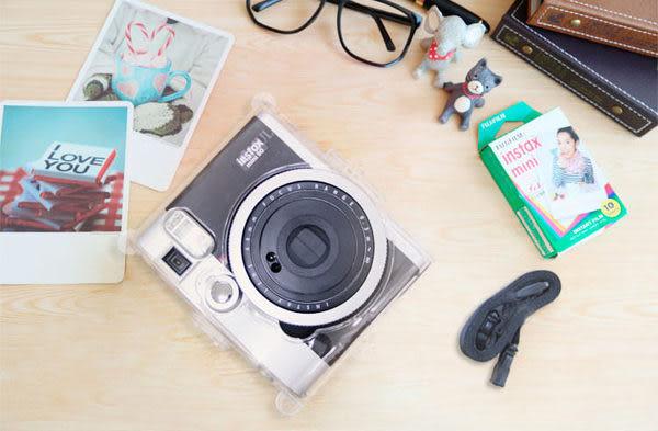 fujifilm instax mini 90 富士拍立得 mini90 水晶殼 附背帶 【DIMA3A】