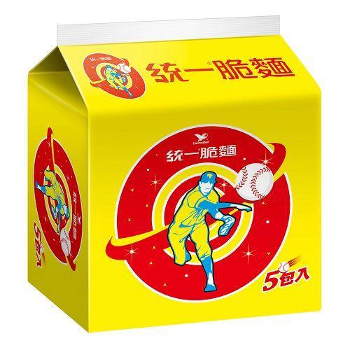 統一脆麵5合155gx5入【愛買】