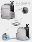 攝影背包 安諾格爾微單相機包男後背單反側開攝影包休閒佳慧尼康女背包LX 智慧e家