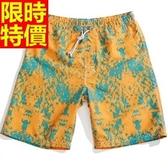 海灘褲-防水衝浪品味簡約精緻時尚男短褲子1色54q12【時尚巴黎】