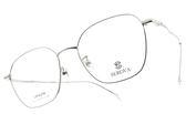 SEROVA 光學眼鏡 SL429 C02 (銀) 文藝氣質方框款 眼鏡框 #金橘眼鏡