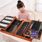 水彩筆 兒童水彩筆套裝幼兒園畫畫筆初學者小學生用畫筆36色寶寶繪畫顏色筆小孩手繪彩筆T