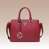 手提包-真皮春夏新款純色優雅女肩背包4色73se2【巴黎精品】