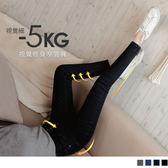 《BA5155》3D立體塑型視覺修身牛仔內刷毛-5KG窄管褲 OrangeBear