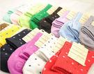 襪子【FSW018】日系繽紛點點中筒襪8...