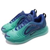 Nike Air Max 720 Sea Forest 慢跑鞋 藍 黑 漸層 大氣墊 運動鞋 男鞋【ACS】 AO2924-400
