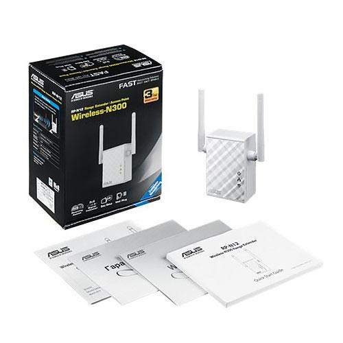 【限時特價至0720】 ASUS 華碩 RP-N12 Wireless-N300 WiFi 訊號延伸器 / 存取點 / 媒體橋接