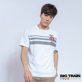 Big Train 燃夏海浪圓領T-男-白-B8062480