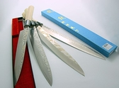 龍紋沙西米刀/生魚片刀240mm-花紋鋼木柄(A00097) 本賣場為240mm,另有210mm、270mm、300mm可選擇