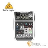 德國Behgringer Q502usb 5軌混音器(附USB線,可當錄音介面)【耳朵牌/Q-520/USB介面/XENYX】