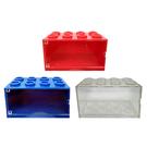 【正版授權】積木造型 小車收納盒 可推疊排放 收納小車 小車展示盒 006906 006913 006920