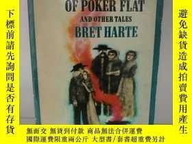二手書博民逛書店布勒特·哈特罕見The Outcasts of Poker Fl