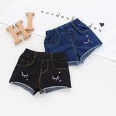 女寶寶短褲夏季新品0-1-2-3-4歲女童熱褲兒童童牛仔褲柔軟透氣