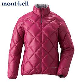 丹大戶外用品 日本【mont-bell】LT Alpine 女款羽絨外套1101360-RUB 寶石紅