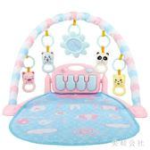 嬰兒腳踏琴新生兒健身架寶寶腳踩鋼琴益智早教玩具CC4591『美鞋公社』