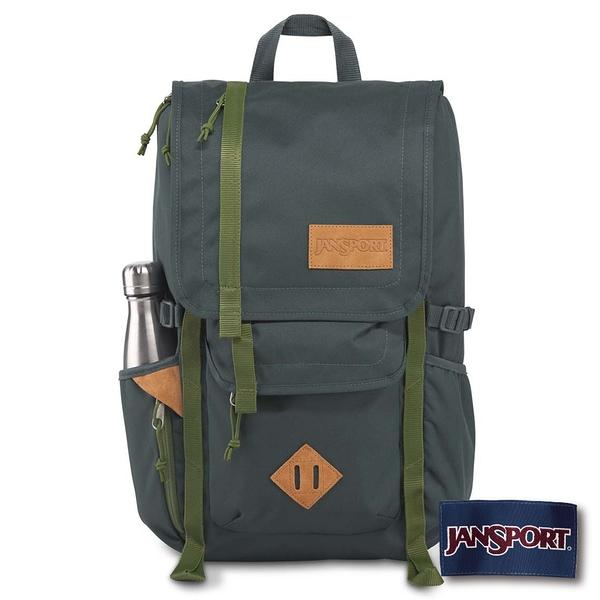 【JANSPORT】HATCHET系列後背包 -石板藍/奧利綠(JS-42010)
