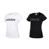 ADIDAS 女圓領短袖T恤(慢跑 路跑 愛迪達≡體院≡ DS8724_1