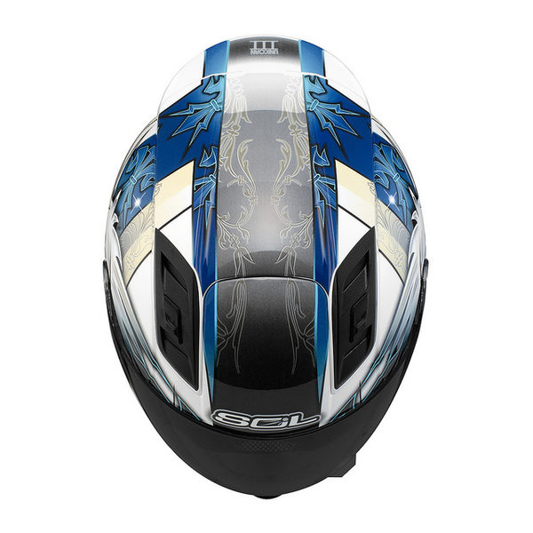 【SOL 68Sll 獨角獸三代 全罩 安全帽 白藍】69S、免運費、加贈好禮