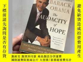 二手書博民逛書店The罕見Audacity of Hope:Thoughts on Reclaiming the American