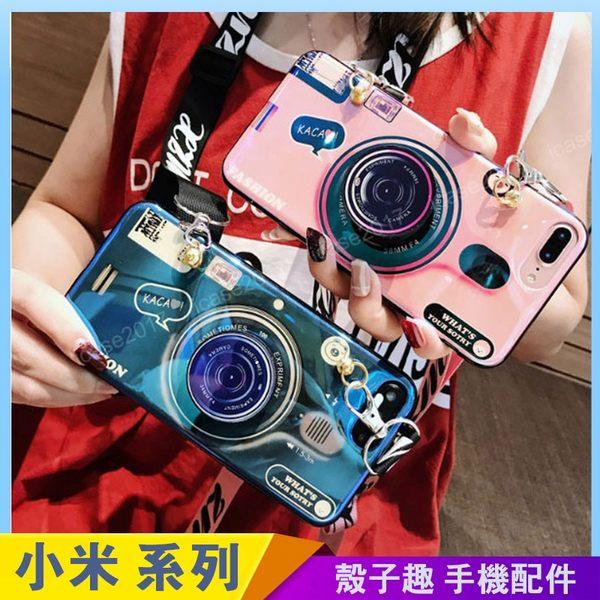 創意相機 紅米Note7 紅米Note5 Note4x 手機殼 藍光殼 相機鏡頭 氣囊伸縮 影片支架 紅米5 plus 防摔軟殼