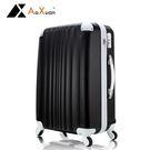 行李箱 登機箱 20吋ABS撞色耐衝擊護...