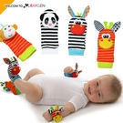 寶寶卡通動物造型襪套 一對 新生兒玩具