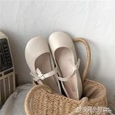平底單鞋女夏新款韓版百搭休閒時尚淺口溫柔晚晚鞋仙女豆豆鞋 秋季新品