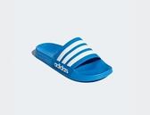 Adidas ADILETTE CLOUDFOAM SLIDES 男女款藍色休閒涼拖鞋-NO.B42211