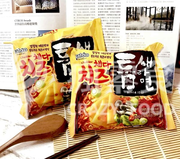 Paldo 八道 切達起司極地麻辣拉麵 (單包入) 韓國泡麵 限定版